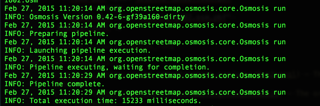 How to update your OSM Tables with Changesets